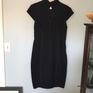 Little black dress with attitude.